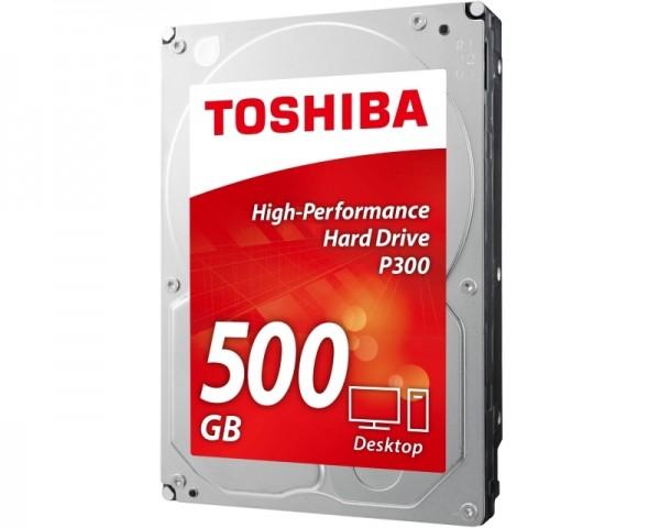 TOSHIBA 500GB 3.5'' SATA III 64MB 7.200rpm HDWD105EZSTA P300 series