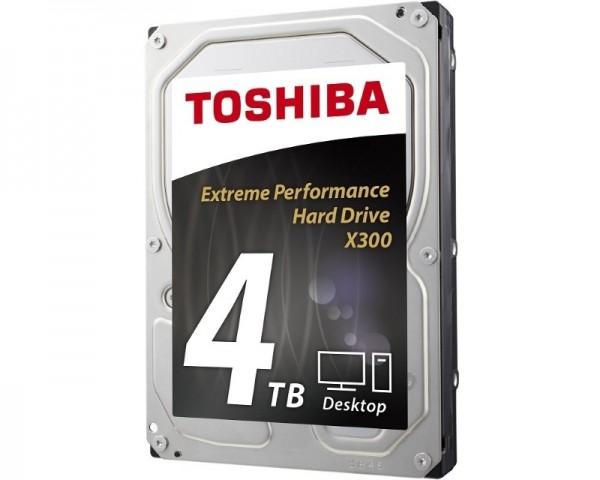 TOSHIBA 4TB 3.5'' SATA III 128MB 7.200rpm HDWE140UZSVA X300 series bulk
