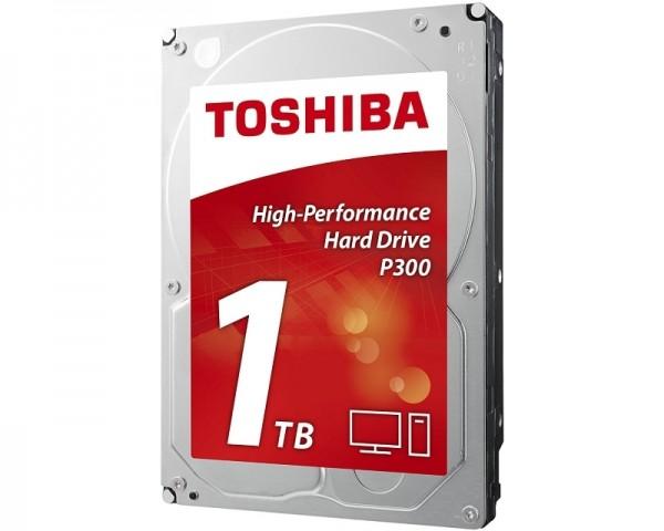 TOSHIBA 1TB 3.5'' SATA III 64MB 7.200rpm HDWD110EZSTA P300 series