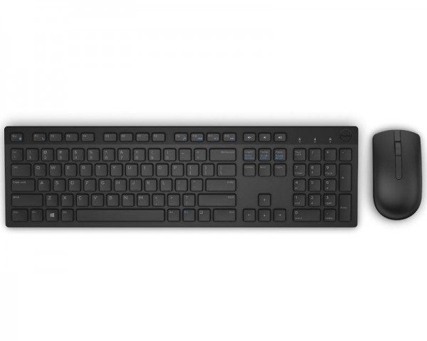 DELL KM636 Wireless US tastatura + miš crna