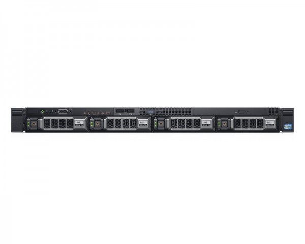 DELL PowerEdge R430 Xeon E5-2620 v4 8C 1x16GB H730 1x300GB SAS DVDRW 550W (1+0) 3yr NBD + Sine za Rack